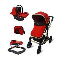 سرویس کالسکه بیبی لند 33 2 210x210 - سرویس کالسکه بيبي لند رنگ قرمز مدل سی 33 ال| Baby Land C-33L Stroller And Carrier Set
