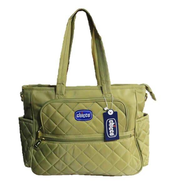 CHICCO DIPER BAG NEW CREME 1703 1 600x600 - ساک لوازم چیکو chicco کد 1703