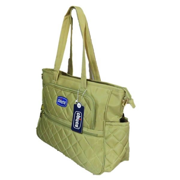 CHICCO DIPER BAG NEW CREME 1703 2 600x600 - ساک لوازم چیکو chicco کد 1703