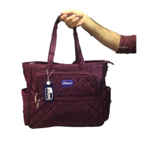 chicco diaper bag 1703 8 600x600 - ساک لوازم چیکو chicco کد 1703