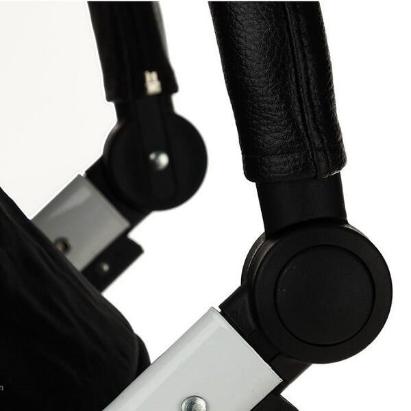 roma plus black new 5 600x600 - کالسکه تک دلیجان مدل روما پلاس +roma