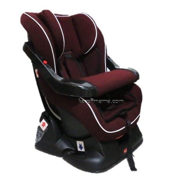rahbarmade new colours red grey 5 600x600 - صندلی ماشین راهبر مید rahbarmade مدل نیکو niko