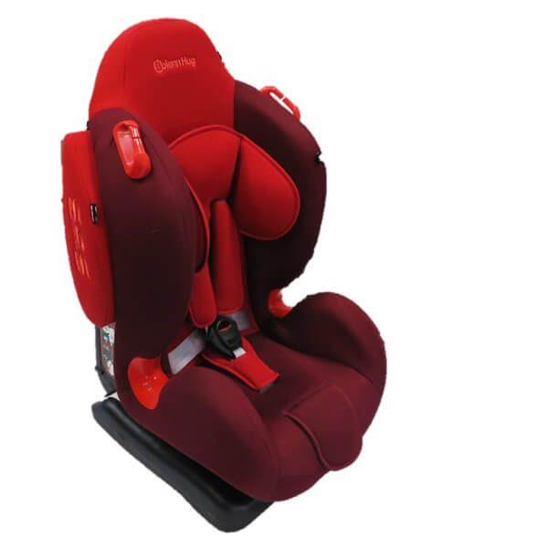 bolenn hug red car seat new 5 600x600 - صندلی ماشین بولن هاگ bolenn hug مدل استورم قرمز
