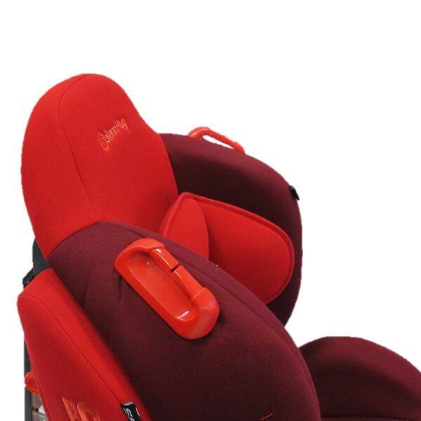bolenn hug red car seat new 6 600x600 - صندلی ماشین بولن هاگ bolenn hug مدل استورم قرمز