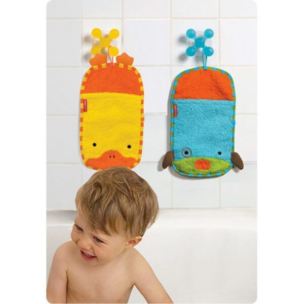 lif skip hop 8 600x600 - لیف حمام کودک اسکیپ هاپ skip hop طرح حیوانات