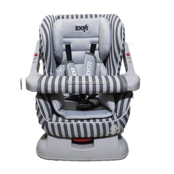 zooye hhh666668 4 600x600 - صندلی ماشین zooye babycare زویه بیبی کر مدل zb-203 بدنه طوسی