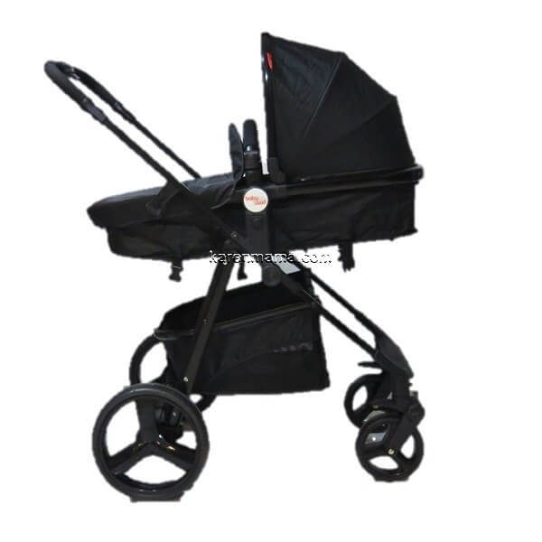 blacks babyland c31l new 14 600x600 - ست 2 تکه کالسکه  babyland بیبی لند مدل c31l تمام مشکی