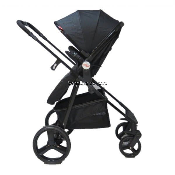 blacks babyland c31l new 15 600x600 - ست 2 تکه کالسکه  babyland بیبی لند مدل c31l تمام مشکی