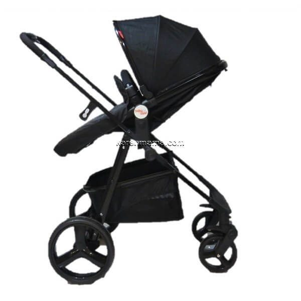 blacks babyland c31l new 16 600x600 - ست 2 تکه کالسکه  babyland بیبی لند مدل c31l تمام مشکی