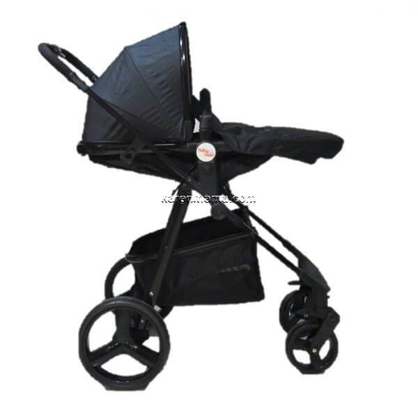 blacks babyland c31l new 18 600x600 - ست 2 تکه کالسکه  babyland بیبی لند مدل c31l تمام مشکی