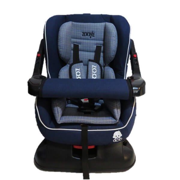 صندلی خودرو zooye babycare زویه بیبی کر مدل zb-203 بدنه مشکی