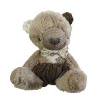 عروسک پولیشی خرس قهوه ای بیبی فور لایف baby4life