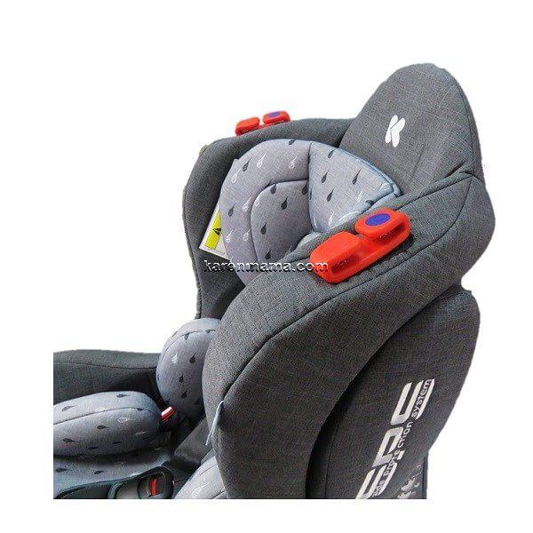 صندلی خودرو کودک کیکابو kikkaboo مدل hood