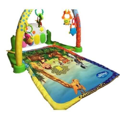 تشک بازی پلی گرو playgro طرح پیانو